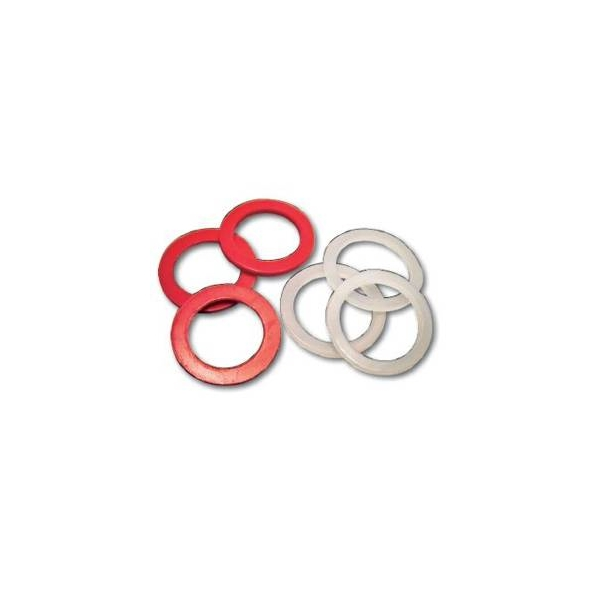 ACPSWM25 Peppers ACPSW/M25 PTFE Sealing Washer ACPSW/M25 [red] Temperatur range:  -200°C to +260°C